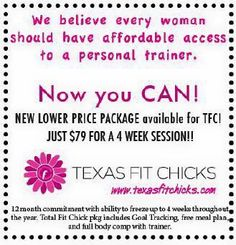 Looking for affordable personal training?