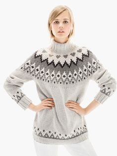 INTARSIA SWEATER LIMITED EDITION