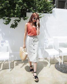 #Dahong style2017 #summerlook #HeeRan