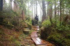 6 mile hike Shoreline trail at Ecola State Park, South of Seaside. Oregon