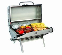 New-Barbecues-grill-Camco-57305-Olympian-5500-Stainless-Steel-Portable-Grill