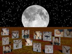 As the Harvest Moon glows a selection of great jewelry appears at http://artbymichelewilson.com/fallsalejewelry.htm