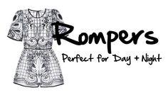 """""""Rompers"""" by elledanii ❤ liked on Polyvore"""
