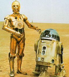 R2-D2 & C-3PO: Star Wars