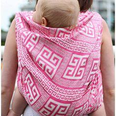 Šátek na nošení dětí Tekhni meandros candy - obrázek číslo 1