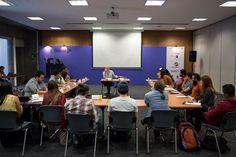 Así han transcurrido las primeras horas de 3 días de festival de periodismo, que se desarrollan en Medellín como homenaje al Maestro Gabo.   Foto: Isabel Tobón/FNPI.