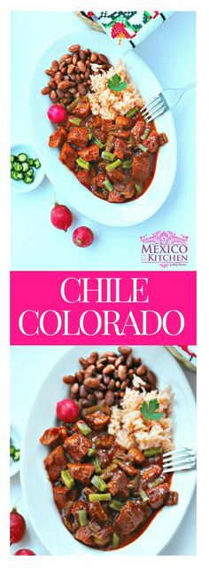 Chile Colorado is not easy to find outside of this region of Mexico, so most people use Guajillo peppers to prepare this dish (that's what I'll be using in this recipe).#mexicanrecipes #mexicanfood #mexicancuisine  #pork