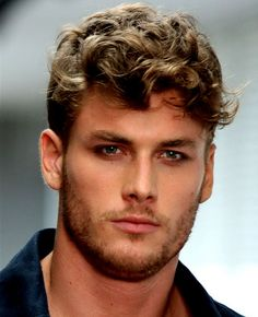 Short Men Curly Hairstyles