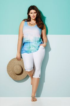 Blue crush - plus size