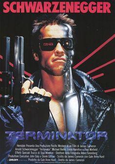 The Terminator Movie Poster WWW.RICARDOSAMUDASINCLAIR.COM