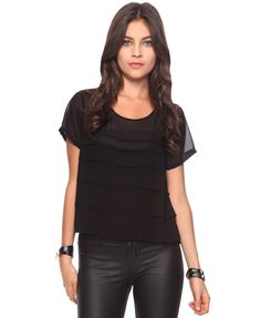 Black shirt; what else is there to say?