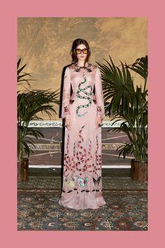 Maxi dress Gucci Prefall 2016
