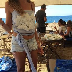 WEBSTA @ lila_eugenie - #lilaeugenie wrap top spotted on the beach!