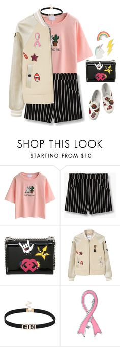 """""""Play It!"""" by eoktarinda ❤ liked on Polyvore featuring WithChic, MANGO, Dsquared2, Bling Jewelry, Red Camel and pins"""