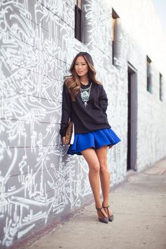 3b98611ae6 I am loving the skirt sweatshirt combo right now....just got myself