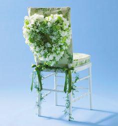 Brides: Wedding Chair Decorations :