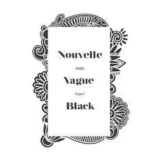 Image result for nouvelle vague font