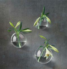 Vas för vägg - Glas boll - cm från Affari kr