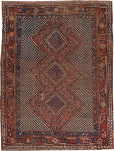 Antique Afshar Rug, No. 20466 - from Galerie Shabab