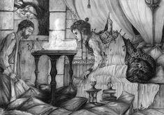 Enilieru la corrompu, Asthenot artworks ©                - https://enchanted-arts.fr