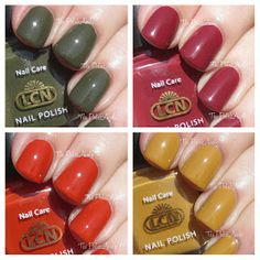 LCN Fall 2013 Charade Collection Swatches