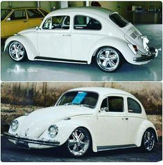 VW Fusca and fuch's 17""