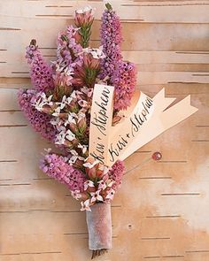 Calligraphy Boutonniere