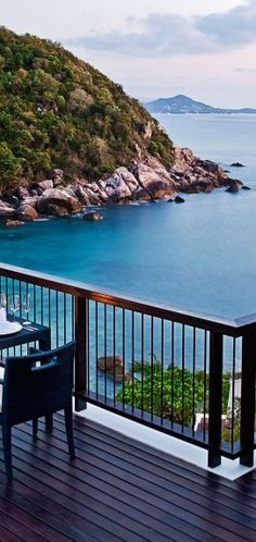 Perfect balcony #view in #Thailand.