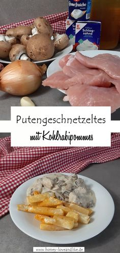 Lowcarb Putengeschnetzeltes mit Pilzen und Sahne Lowcarb turkey slices with mushrooms and cream is r Ketogenic Recipes, Low Carb Recipes, Sliced Turkey, Keto Snacks, Low Carb Keto, Healthy Life, Meal Prep, Ayurveda, Stuffed Mushrooms