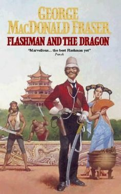 Flashman and the Dragon Cover Art by Gino d'Achille