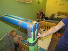 Mama Frankenstein: DIY Toddler Bed parachoques Tutorial