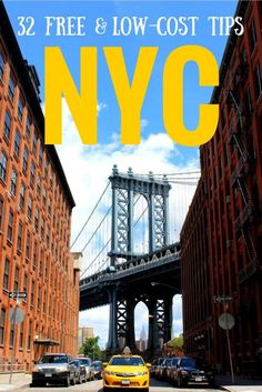 Affordable New York City: 32 free and low-cost tips http://solotravelerblog.com/budget-new-york-city/