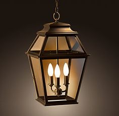 Like This Style Not The Finish For Above Front Door Outside Pendants | Restoration  Hardware. Porch LightingExterior ...