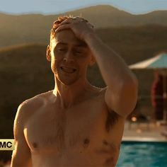 Pin for Later: You Won't Believe How Many Times Tom Hiddleston Has Been Nearly Naked on Screen Yep, there he is. Tom Hiddleston Body, Tom Hiddleston Funny Tumblr, Tom Hiddleston High Rise, Tom Hiddleston Crimson Peak, Tom Hiddleston Dancing, Tom Hiddleston Gentleman, Loki Funny, Tom Hiddleston Quotes, Man Thing Marvel