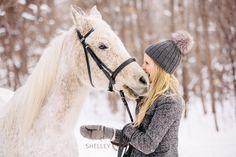 Abby and the Greys - Winter Equestrian Photos - Shelley Paulson Horse Senior Pictures, Horse Photos, Equine Photography, Winter Photography, Haflinger Horse, Winter Horse, Horse Galloping, Horse Portrait, White Horses