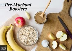 When you workout, your body needs energy (and motivation!) to get started. Before your workout, stock up on healthy fats with a moderate amount of carbs and protein. If you're wondering how exactly to get that perfect mix of nutrients before your workout, have no fear! We found five foods that are perfect to eat before you get your sweat on, AND...