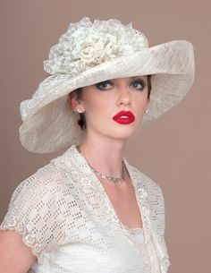Louise Green Millinery Co. Fancy Hats, Cool Hats, Fascinator Hats, Fascinators, Headpieces, Pork Pie Hut, Rose Hat, Bridal Hat, Stylish Hats