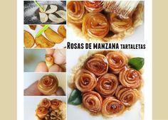 rHedBuscando: Rosas de manzanas como hacerlas
