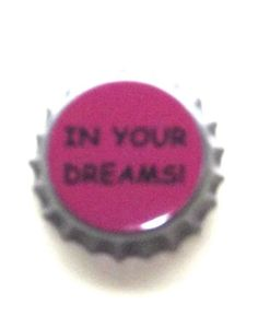 Vintage Pink 'In Your Dreams' Brooch,  - Rare by BunkysVintageCrafts on Etsy