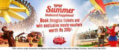 Still haven't availed the #AdlabsImagica Movie Voucher Offer? Hurry up, before it's too late.