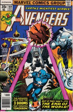 Avengers 1963 1st Series 169 March 1978 Issue by ViewObscura