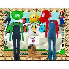 Throwback Thursday: Super Mario Bros. by sstark2010 on Polyvore featuring Polo Ralph Lauren, Oui, STELLA McCARTNEY, Frame Denim, Timberland, Nintendo and modern
