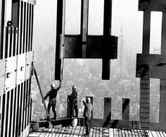 World Trade Center Construction, 1970. FromOld Images of New York