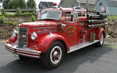 Red Hot Fire Engine