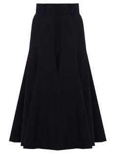 Spencer flared wool-blend skirt | Gabriela Hearst | MATCHESFASHION.COM UK