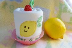 Lemon Appliqued Onesie..Sweet and Sour..Premium by mollbelldesigns