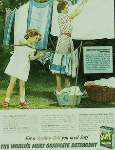 vintage Surf detergent