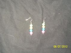 Pair of Glow in the dark Earrings