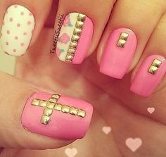 cute nails for those going with the hipster look