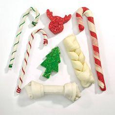 Amazon.com : Ranch Rewards Rawhide Holiday Stockings - Assorted Festive Treats…